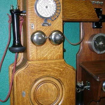 The Early Dial Wall & Candlestick Telephones  - Telephones