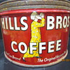 1952 Hills Bros Coffee Tin