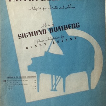 """""""Faithfully Yours"""" Sheet Music - Paper"""