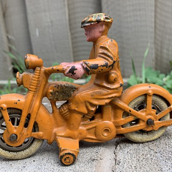 Vintage toy motorcycles - Motorcycles