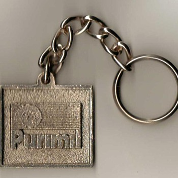 """Purimil Metais"" (Brazil) - Keyfob and Chain - Advertising"