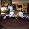Vintage Rocking Horse. Made in England Stamped on side