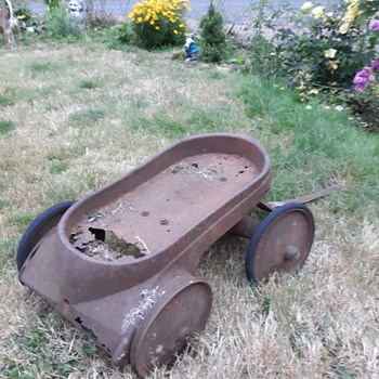 Early murray mercury toy wagon - Toys