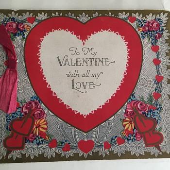 Antique Valentine Card - Cards