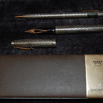 Sheaffer Sterling Silver Set - Pens