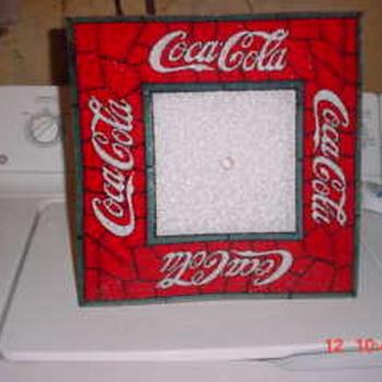 Coca Cola ceiling light shade - Coca-Cola
