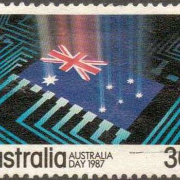 "1987 - Australia - ""Australia Day"" Postage Stamps - Stamps"
