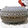 Antique Ornate Burma? Silver/ Bronze Slave Bracelet  HELP!!!