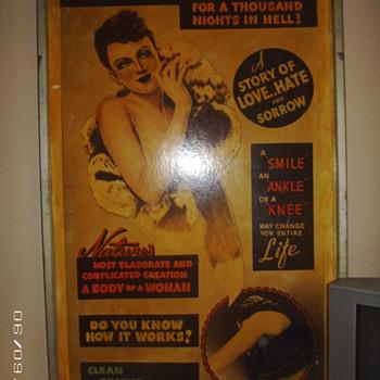 Burlesque Billboard - Posters and Prints
