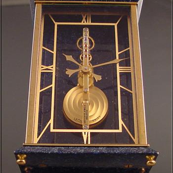 LeCoultre in-line skeleton clock - Clocks