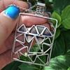 Norman Grant Silver Enamel Necklace