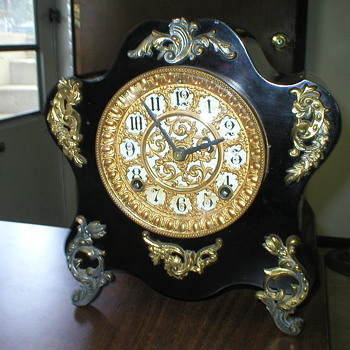 Metal Ansonia Clock - Clocks