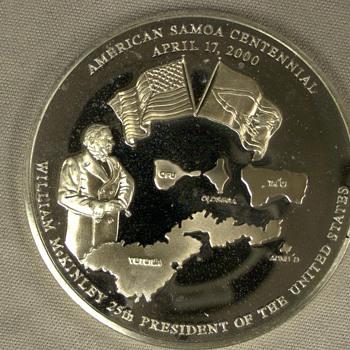 Samoa Centennia Coin (Help) - US Coins