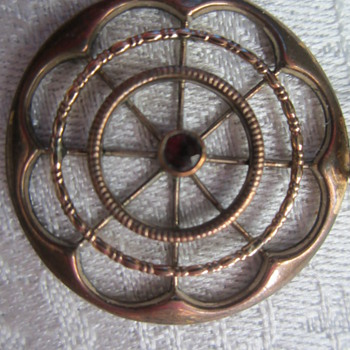 Garnet Pendant? - Costume Jewelry