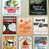 My Collection of Vintage Advertising Labels