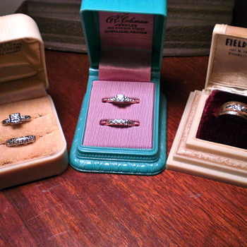 Vintage wedding rings...