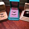 Vintage wedding rings...