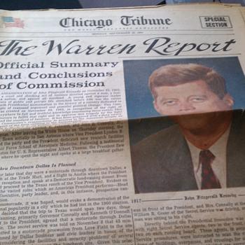jfk newspaper