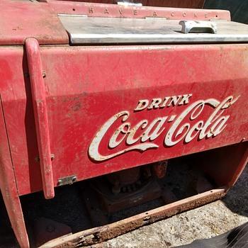 Coca-Cola refrigerated cooler - Coca-Cola