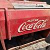Coca-Cola refrigerated cooler