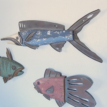 Vintage Fish Sculpture, Wall Hangings, Info Request