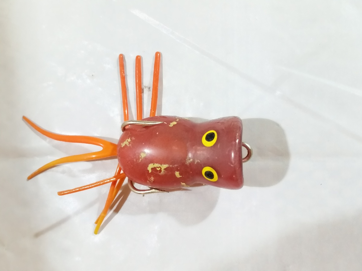 Odd looking fishing lure collectors weekly for Weird fishing lures