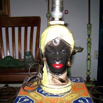 Blackamoor Lamp - Lamps