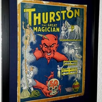 Original 1927 Thurston's Book of Magic  - Posters and Prints