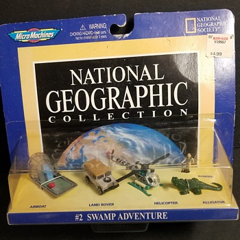 Micro Machines - National Geographic Collection - Model Cars