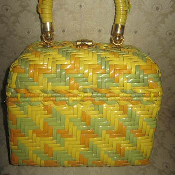 """Vintage """" Exclusively for Lewis"""" Bag made in hong kong"""