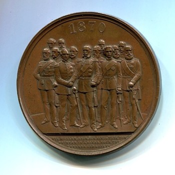 Franco Prussian War Medal - Military and Wartime