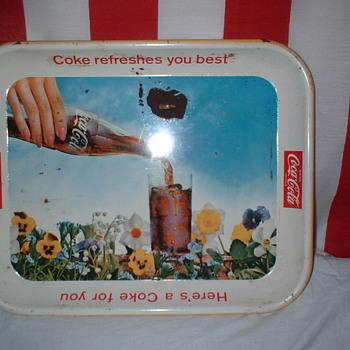 Vintage Coke Trays - Coca-Cola