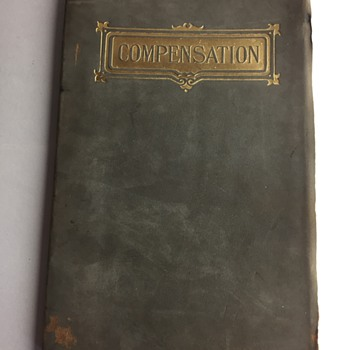 Compensation by RW Emerson book pamphlet