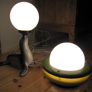 Glass Ball table/night lamps - Lamps