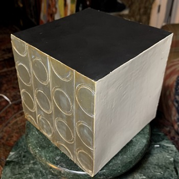 Pottery Cube by Ruth Hyndman  - Pottery