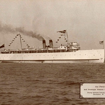 "1917 - Steamer ""Ontario No. 1"" Photograph - Photographs"