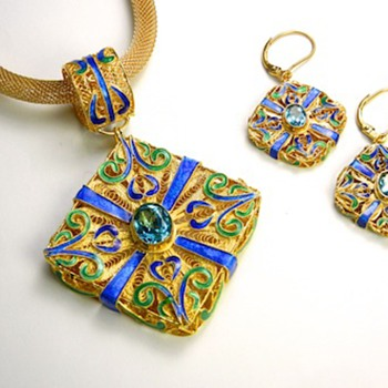 More Mongolian Style Jewelry! - Asian