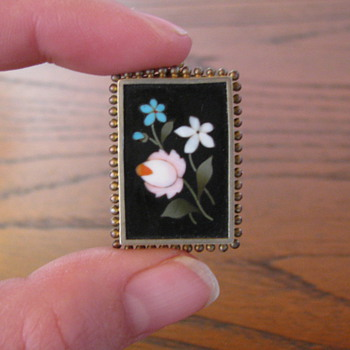 Pietra Dura Broaches - Fine Jewelry