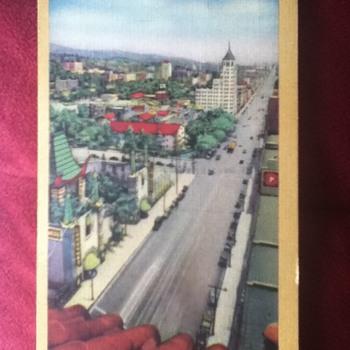 1942 Hollywood Boulevard Postcard - Postcards