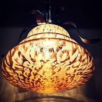 huge pendant lamp - Art Glass