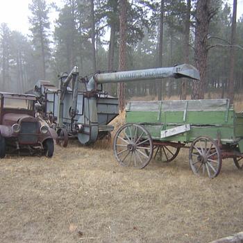 1926 Reo Truck, Genuine South Dakota Rust! - Tractors