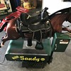 Sandy the  horse  . A dime store kiddy ride