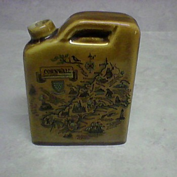 POTTERY FLASK - Bottles