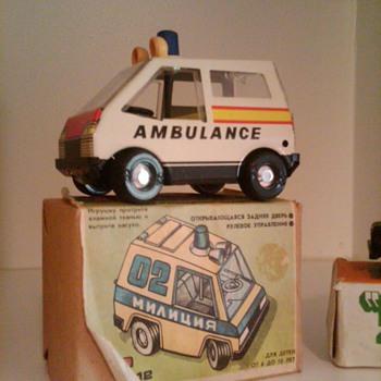Tin Ambulance....Russian?