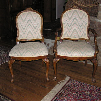 Help!  What are these chairs?  Thanks for any info! - Furniture