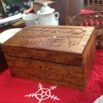 wooden box  - Fine Jewelry