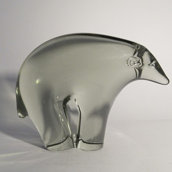Livio Seguso animals for Gralglass (Germany) - Art Glass