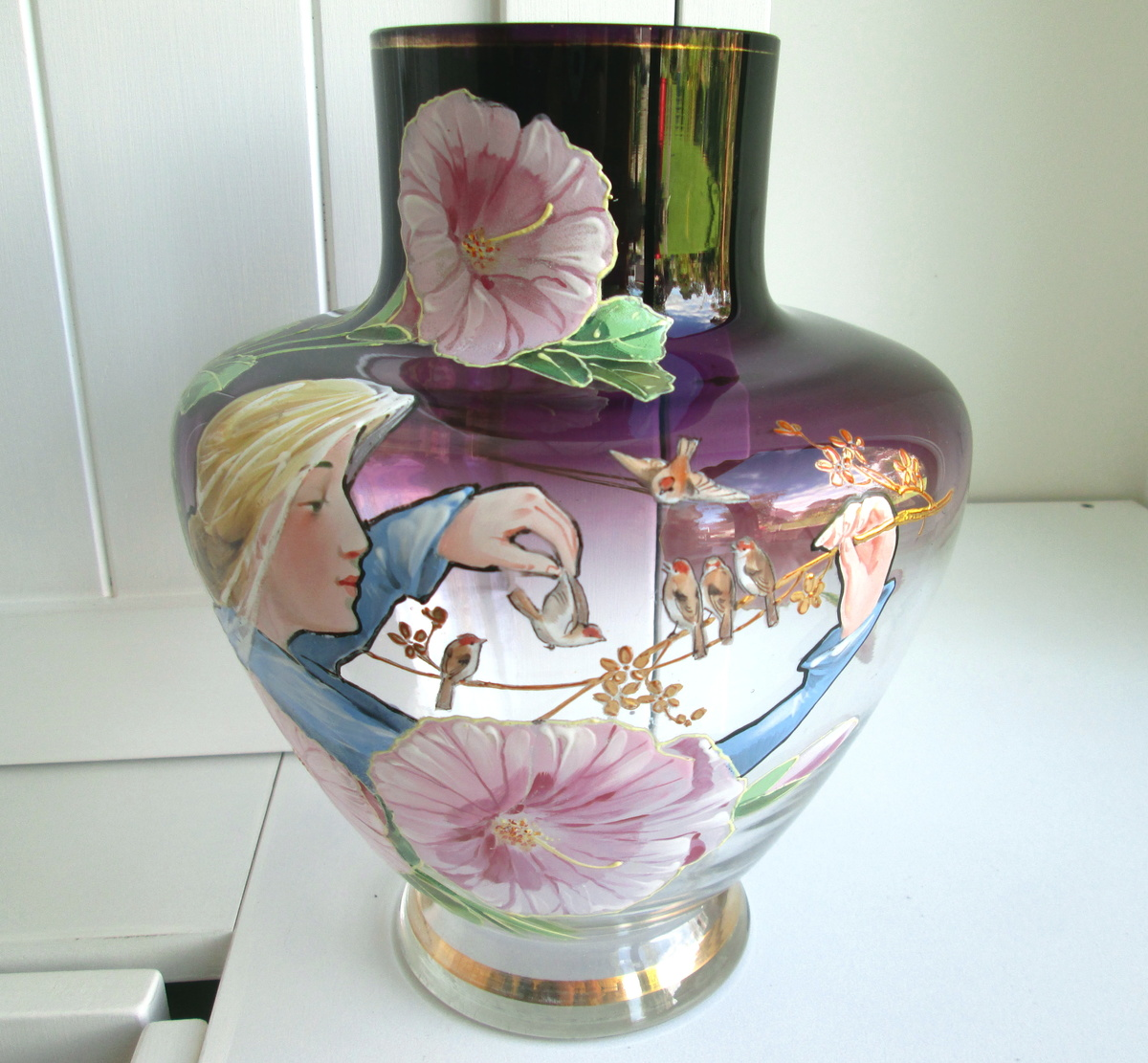 Harrach Glass Vase by Pohl  c1900 | Collectors Weekly