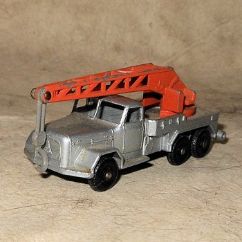 Matchbox Monday Mon Magirus-Deutz Crane Truck MB 30 1961-1964 - Model Cars