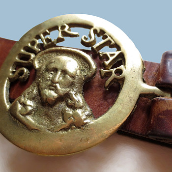 Jesus Christ Superstar 1970s Artisan Belt Buckle - Accessories